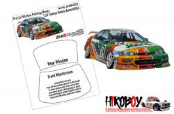 1:24 Honda Accord JTCC Window Painting Masks (Tamiya)