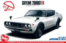 1:24 Nissan Skyline 2000GT-R KPGC110 '73 (Ken and Mary) Model Kit