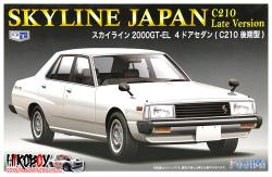 1:24 Nissan Skyline C210 Late Version (4 Door) 2000 GT-EL
