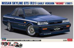"1:24 Nissan Skyline GTS (R31) Early Version ""NISMO"""