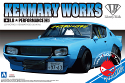 1:24 Nissan Skyline LB Works Kenmary Works 2Dr