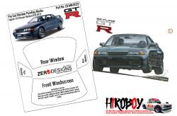 1:12 Nissan Skyline R32 GT-R Window Painting Masks (Fujimi)