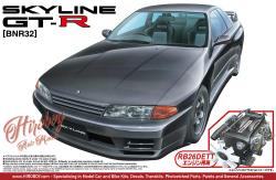 1:24 Nissan Skyline R32 GT-R c/w RB26 DETT Engine