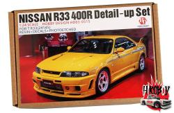 1:24 Nissan Skyline R33 400R Resin Detail Up Set