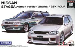 1:24 Nissan Stagea Autech Version 260RS/25X Four