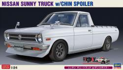 1:24 Nissan Sunny Truck (Datsun 1200 UTE) with Chin Spoiler