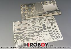 1:24 Nissan Z NISMO Version Photoetched Detail Set