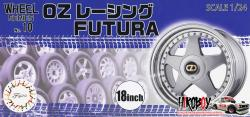 "1:24 18"" OZ Racing Futura Wheels and Tyres #10"