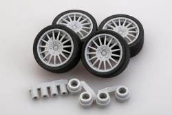 1:24 OZ WRC Wheels and Tyres
