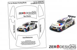1:24 BMW M6 DTM Pre Cut Window Painting Masks (Revell)