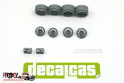 "1:24 Opel Manta Conrero Set up 1: Braid Series 1 D155  15"" Wheels + Lights"