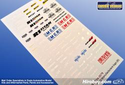 1:24 Option Parts Tuner Manufacture Decals (6)