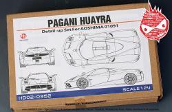 1:24 pagani huayra - aoshima model kit | aos-010914 | aoshima