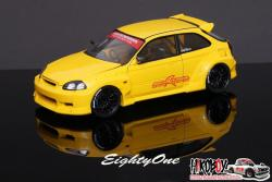 1:24 M&M Honda Racing Civic EK9 Transkit
