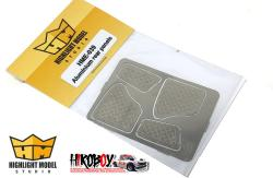 1:24 VW Beetle Aluminium Rear Interior Panels (Photoetched Parts)