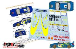 1:24 Subaru Impreza Works Team 2002 Rally GB Decals (Tamiya)