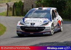 1:24 Peugeot 207 S2000 Bohemia Rally 2011 - Decals for Belkits