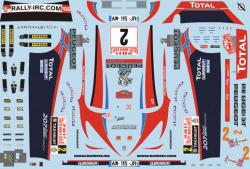 1:24 Peugeot 207 S2000 - Petter Solberg/Patterson 2011 Decals