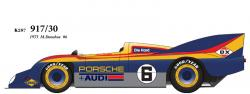 1:24 Porsche 917/30 1973 Sunoco No.6 Multi-Media Model Kit