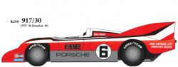 1:24 Porsche 917/30 1975 CAM2 No.6 Multi-Media Model Kit