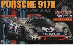 1:24 Porsche 917K 1971 Sebring  Winner #3 (Martini Racing Team) Deluxe Edition