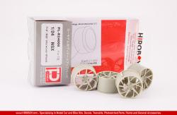 "1:24 Honda NSX F19"" R20"" Interwoven Wheels Set"