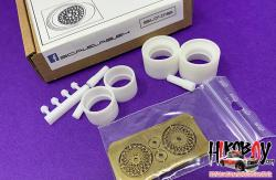 1:24 Porsche 935 Wheels and Resin Tyres