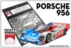 1:24 Porsche 956 Photoetched Detail Set #8022