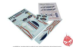 1:24 Porsche 956 Rothmans Decals (Tamiya) 1986
