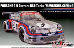 1:24 Porsche Carrera 911 RSR Turbo Martini #9 - 1974 Watkins Glen