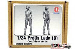 1:24 Pretty Lady (B) Confident Smile