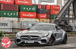 1:24 Prior Design Mercedes AMG GT (PD800GT) Widebody Transkit