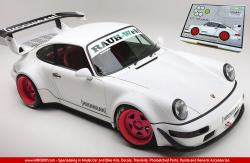 1:24 RWB Porsche 964 'Hoonigan' Resin Transkit for Tamiya