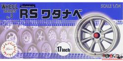 "1:24 RS Watanabe 17"" Wheels and Tyres (#3)"