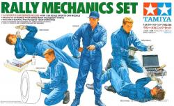 1:24 Subaru Rally Mechanics Set - 24266