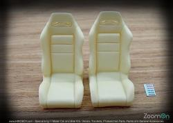 1:24 Recaro Front Bucket Seats