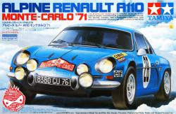 1:24 Renault Alpine A110 '71 - Monte Carlo  -  Limited Re-Issue at Hiroboy ONLY