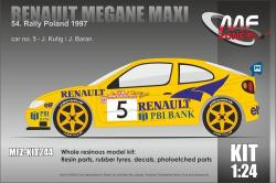 1:24 Renault Megane Maxi Kulig - Rally Poland 1997 Resin Kit