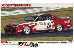 1:24 Ricoh Skyline GTS-R (R31) 1988 Japan Touring car Championship NISMO Team Car