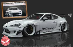 1:24 Rocket Bunny GT86 V3 Wide body kit For Tamiya GT86/FR-S