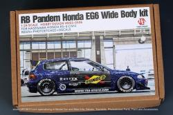 1:24 Rocket Bunny Pandem Honda EG6 Wide Body Kit For Hasegawa Honda EG-6 Civic