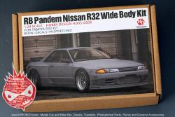 1:24 Rocket Bunny Pandem Nissan Skyline R32 Wide body kit (HD03-0509)
