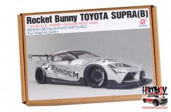 1:24 Rocket Bunny Toyota Supra Pandem V1.5 (B) Resin Upgrade set for Tamiya