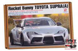 1:24 Rocket Bunny Toyota Supra (A) Resin Upgrade set for Tamiya