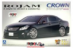 "1:24 Rojam IRT Toyota Crown Athlete ""Super VIP"" (GRS204) Model Kit"