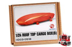 1:24 Roof Box - Cargo Carrier (B) (Resin+Decals) 56° Nord