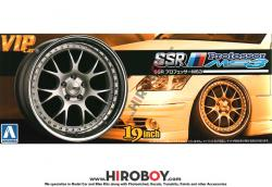"1:24 19"" SSR Professor MS3 Wheels and Stretch Tyres"