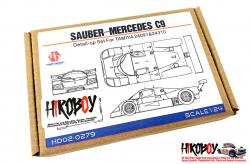 1:24 Sauber-Mercedes C9 Photoetch Detail-Up Set for Tamiya