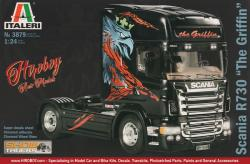 "1:24 Scania R730 ""The Griffin"" Italeri 3879 Model Kit"
