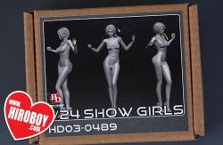 1:24 Show Girl Resin Figure